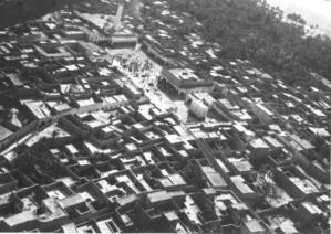 6. Ouled-Djellal vue aerienne des alentours de la grande place