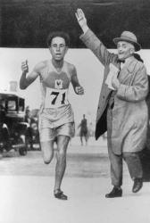 El ouafi 1er medaille olympique algerien