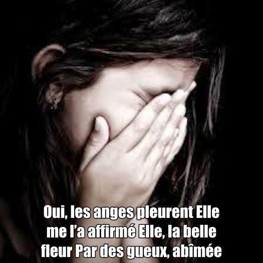 Oui les anges pleurent 1
